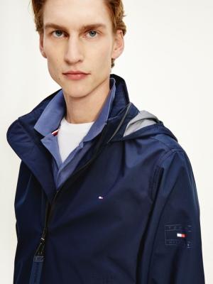 collar jacket logo