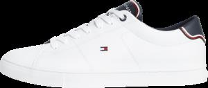 Leather sneaker logo
